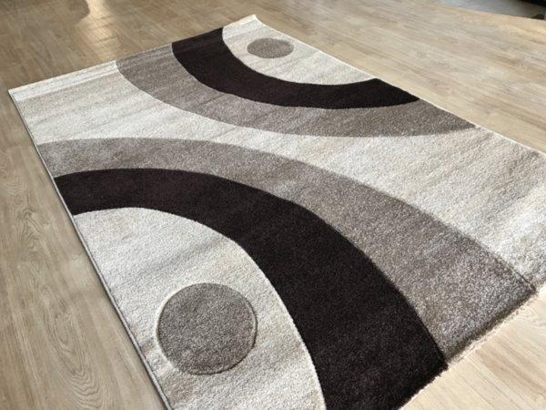релефен килим съни   8273 карамел
